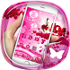 Pink Lady Rose love 3D theme by Best Custom Theme