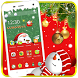 Merry Christmas Snow Wallpaper by Cool Theme Love
