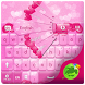 Pink Hearts Keyboard by GO T-Me