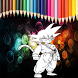 Coloring Goku S3 by neomas10