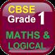 Grade 1 Maths and Logical by Sana Edutech