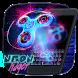 Neon Fidget Keyboard Theme by Pretty Keyboard Theme