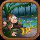 Jungle Kong Monkey Banana king by Canalzi Top