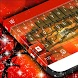 Africa Sunset Keyboard Theme by Premium Themes