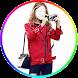 Girls Red Coat Selfie by LinkopingApps