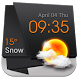 3D Clock Current Weather Free by Weather Widget Theme Dev Team