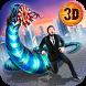 Giant Killer Worm City Destruction Simulator