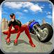 Super Spider Hero Flying Bike City Battle by 3Dee Space
