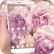 theme rose pink petal pretty by alien cool panther theme for Mr magic bubble