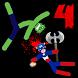 Stickman Warriors 4 Online by Merkury Games