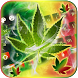 Weed Rasta Ganja Smoke Keyboard by Keyboard Theme Artist (Smart Keyboard And2017)