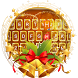 Aureate Christmas Keyboard Theme by Fashion theme for Android-2018 keyboard