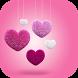 Pink Love Heart Launcher Theme
