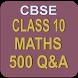CBSE Class 10 Maths by Rajatha Agencies