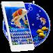 Koi Fish Keyboard Theme by Super Cool Keyboard Theme