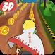 Endless Subway Ninja Rush 3D by Buzz App Cool