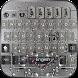 Skull Metal Keyboard Theme by Fantasy Keyboard studio