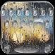 Rain Keyboard Theme Rain Drop by Fly Liability Themes