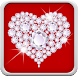 Diamond Hearts Live Wallpaper by Creative Factory Wallpapers