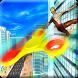 Fidget Spinner Super Spider Hero vs Crime City by crushiz