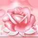 Pink Rose Love Theme by Colourful Theme