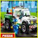 Puzzle LEGO City my City by rezeki alam