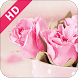 Pink Rose Valentine 2017 by Live Wallpaper and Theme Design