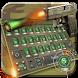 Army Gun Bullet Keyboard by Keyboard Theme Factory