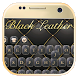 Black Leather Noble Keyboard by Enjoy the free theme
