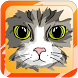 kids coloring and drawing cat by GeekGame
