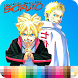 Coloring Boruto by devlengends
