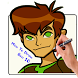 How To Draw Ben 10 Characters by 3dDraw