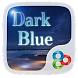 Dark Blue GO Launcher Theme by Freedom Design