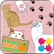Stamp Pack: Kitty Collection by +HOME by Ateam