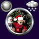 Christmas Clock Weather Widget by Compass Clock and Weather
