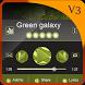 Green galaxy PlayerPro by Star Themes