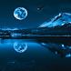 Blue Moon Live Wallpaper HD by Andu Dun