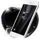 Coal Black Apple Live Wallpaper by stylish android themes