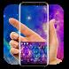 Transparent Galaxy keyboard by Bestheme Keyboard Designer 3D &HD