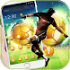 Gold Football Theme love football by LXFighter-Studio