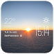 Sunrise weather widget/clock by Widget Dev Studio
