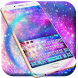 Galaxy Sparkle Keyboard Theme by Keyboard Creative Park