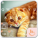 Exotic Kitty Keyboard Theme by Sexy Apple