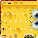 Yellow SpongeBob keyboard Cartoon keyboard by YangZixuan