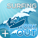 Surf Workout Fitness Training - Fitness Coach + by Free Workouts