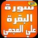 سورة البقرة بصوت علي العجمي by Quran KH