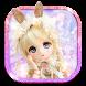 Cute Girl Theme: Anime Doll Girly wallpaper HD by Theme King