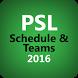PSL Cricket Schedule & Teams by TechRabbits