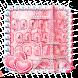 Pink Paris Keyboard Theme by Super Cool Keyboard Theme