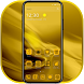 Golden Theme for Phone 8 by Keyboard Theme Artist (Smart Keyboard And2017)